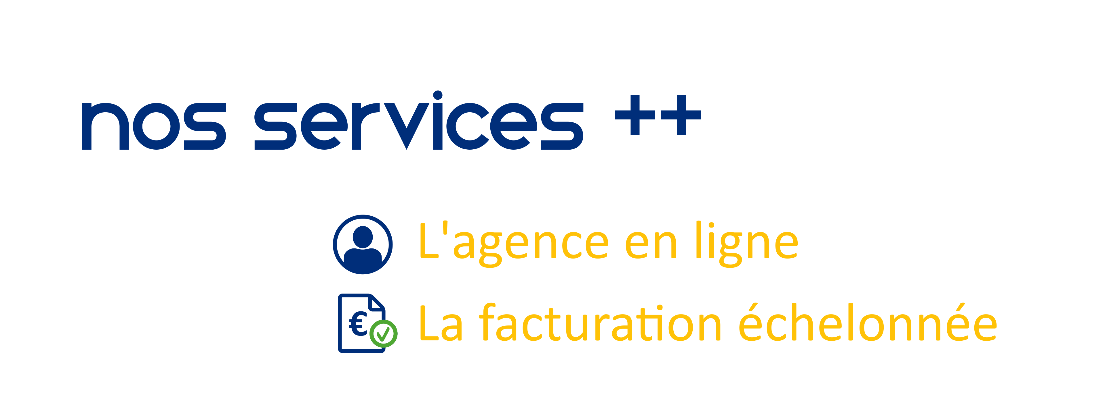 Nos services supplémentaires